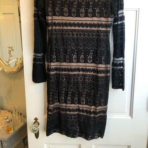 BCBG small lace dress